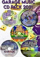 Rocky T Presents - Garage Music - 2021 - CD Pack